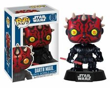 "Funko Pop 09 - Disney Star Wars  ""DARTH MAUL"" Vinyl Bobble-Head"