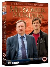 Midsomer Murders Series 17 Complete Seventeenth Season Region 4 New DVD