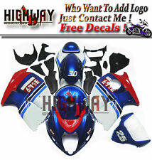 Fit Suzuki GSX1300R Hayabusa 97-07 ABS Injection Fairings Kit Bodywork Blue Red