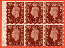 "SG. 464. QB21. 1½d Red - Brown.  A super UNMOUNTED MINT cylinder "" G30 no dot """