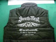Bodywarmer Weste für Harley Davidson  Chopper Biker Custom M / L/XL/XXL 3XL