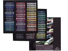Rembrandt Artists Soft Pastels Full Size Set Of 90 Landscape Colours Full Length