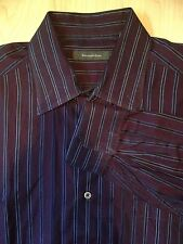 Ermenegildo Zegna Long Sleeve Button Collared Dress Shirt XL Made in Italy