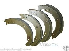 "LAND ROVER SERIES 3 SWB 88"" - FRONT BRAKE SHOE SET TO JUN`80 (4) - STC2796"