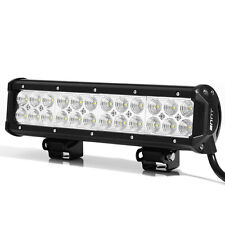 "12"" 72W Cree LED Work Light Bar Spot Flood Combo Offroad Truck Boat SUV UTE 4WD"