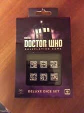Q-Workshop Doctor Who 6D6 RPG Deluxe Dice set (6)
