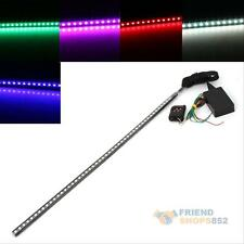7 Colors 48LED RGB Flash Car Strobe Knight Rider Kit Light Strip Remote Control