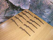 (a 5/14) 10 x rifles ACW sudistas nodrstaatler garde soldados Western
