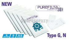 To fit Miele Type G N H Purefilta HEPA 3D Bag & Filter Pack (10)