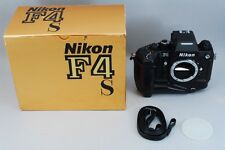 【Ex++++】Nikon F4s 35mm SLR Camera Body w/Multi Control Back MF23 from Japan 1172