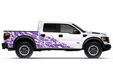 Vinyl Decal Nightmare Wrap Kit for Ford Truck F-150 Raptor SVT 2010-2014 Purple