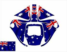 3M SPEEDGLAS 9100 V X XX AUTO WELDING HELMET WRAP DECAL STICKER australia flag
