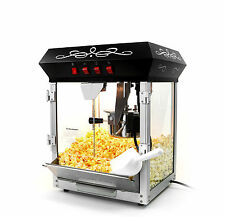Paramount 6oz Popcorn Maker Machine - New Upgraded 6 oz Hot Oil Popper [Black]