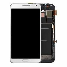 100% Original Samsung Galaxy Note 3 N9005 Blanco Lcd screen/touch digitalizador Marco