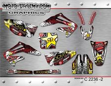 Honda CRf 450R 2002 up to 2004 graphics decals kit Moto-StyleMX