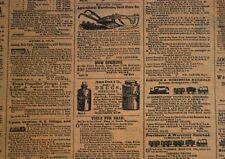 Newsprint / Newspaper Ads Tissue Paper  / Gift Paper  -  Men / Man