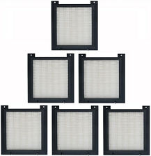 6 HEPA FILTERS FOR LIGHTNING AIR PLUS LA-2SPX PURIFIER