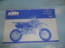 2002 KTM 50 Mini Junior Senior Engine and Chassis Spare Parts Manual 320839