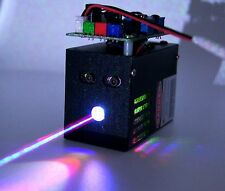 400mW White Laser Beam/TTL RGB Laser Light/Combined by 532nm+650nm+450nm Laser.