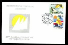 Dominican Republic 1996 Dinghy Sailing Championships FDC #C5481
