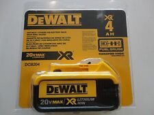 DeWalt DCB204 20V 20 Volt Max Lithium Ion XR 4.0 Amp Battery Pack NIP DCB204