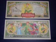 BEAUTIFUL PETER PAN  NOVELTY NOTE ONLY .25 SHIPPING FREE SHIP + FREE NOTES!