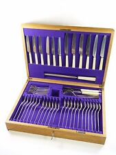 WALKER & HALL Cutlery - PRIDE Pattern - 47 Piece Canteen for 6