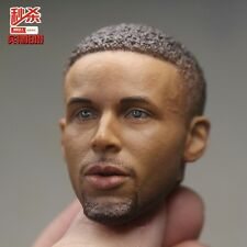Basketball NBA Stephen Curry 1:6 Scale Close Mouth Head Sculpt 2.0 Version