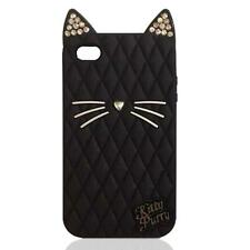 3D CRYSTAL DIAMOND KATY PERRY'S KITTY PURRY CAT CASE FOR iPhone & Samsung SERIES