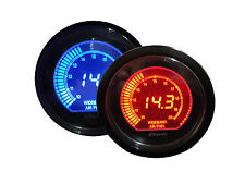 "Universal Air / Fuel Ratio Gauge ( Blue  and Amber Color, 2.5"" / 60mm)"