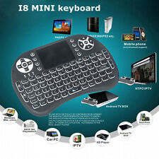 Wireless Mini Keyboard Backlit 2.4Ghz Touchpad Air Mouse For PC Andriod TV BOX