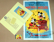 PHONECARD TELECOM AUSTRALIA DISNEY  WHOOPEE PARTY / MINT FOLDER + MOVIE POSTER