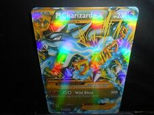 Pokemon IMITATION CARD !!  MEGA EX FLASH TRADING CARDS!!  M CHARIZARD GO GO