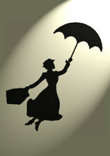Shabby Chic stencil Vintage Mary Poppins A4 297x210mm Wall funriture kids