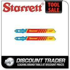 Starrett 2 Metal Cutting Jig Saw Blades 24TPI - BU224-2