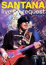 SANTANA - LIVE BY REQUEST rare Rock music dvd 11 songs videos 2005 Ln