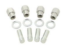 VW Bug Buggy  Chrome Nut & Stud Kit M12-1.5 , Mag Wheels Set 5 ,9510