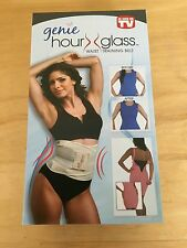 Genie Hour Glass Waist Training Belt As Seen On TV Size L/XL Nude Slimming New