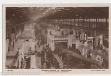 British Empire Exhibition, Interior, Palace of Engineering RP Postcard, B528