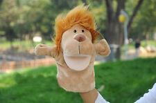 Aambi Creations Golden Lion Hand Puppet Animal Baby Education Play Toy