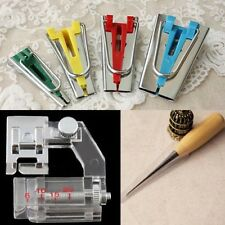 6/12/18/25mm Bias Tape Maker Sewing Awl Binder Foot Kit Set