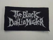 THE BLACK DAHLIA MURDER WOVEN PATCH