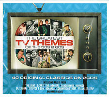THE GREATEST TV THEMES of the 50s & 60s (40 Tracks) New Sealed