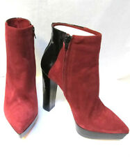 Womens sz 39 / 8.5 ARTHUR GALAN all leather heels sexy Ankle Boots NIB $480