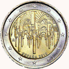 SPAIN SPANIEN - 2€ Euro commemorative coin 2010 - Mosque- cathedral Cordoba