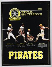 1984 Pittsburgh Pirates MLB Baseball YEARBOOK