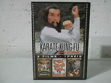 DVD Karate - Kung Fu Collection Eastern Box - 3 Filme 1 Preis FSK 16 sehr gut