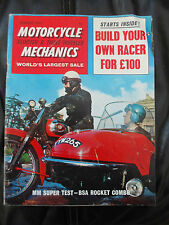Motorcycle Mechanics, Scooter & 3 Wheeler Jan '67, BSA Rocket Combo, Honda & Mor