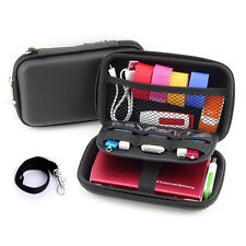 Portable Hard Drive Case for External Hard Drive, Cables and USB Disk Drive