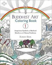 Buddhist Art Coloring Book : Landscapes, Symbols, and Motifs by Robert Beer...
